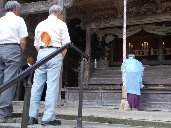 春日神社夏祈祷の祝詞奏上