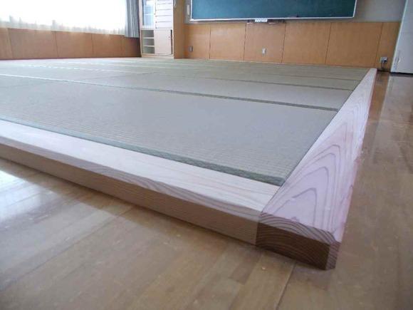畳が入った宿泊室