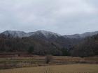 大芋の山々は白く・...
