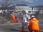 第2分団出動−篠山市消防出初式