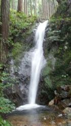雨石山系の滝