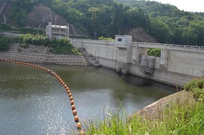 みくまりダム水位16%
