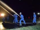 頼もしい消防団の訓練