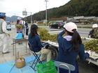 こんな枝豆露店は篠山でただ一つ!